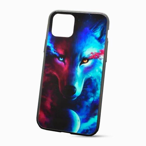 Puzdro Glass Neon TPU iPhone 11 (6.1) - vlk