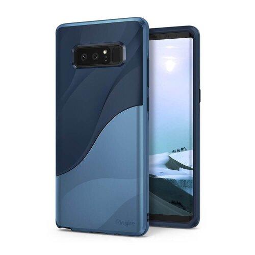 Puzdro Ringke Wave TPU/TPC Samsung Galaxy Note 8 N950 - modré