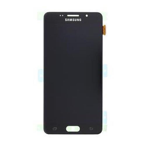 Samsung Galaxy A5 A510 2016 - LCD Displej + Dotyková Plocha - Čierny