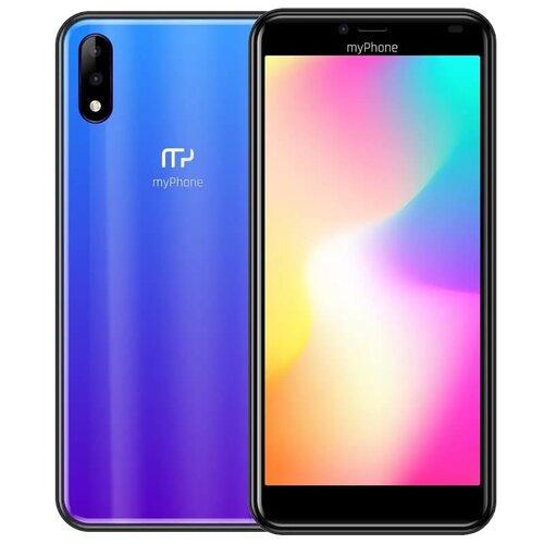myPhone Prime 4 Lite 2GB/16GB Dual SIM, Modrý