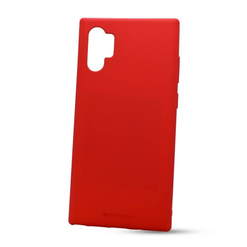 Puzdro Mercury Soft Feeling TPU Samsung Galaxy Note 10+ N975 - červené