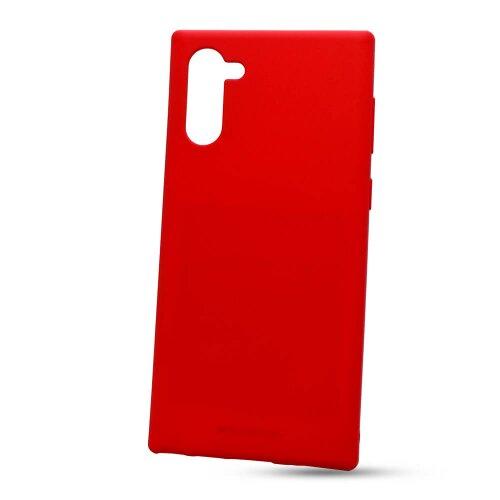 Puzdro Mercury Soft Feeling TPU Samsung Galaxy Note 10 N970 - červené