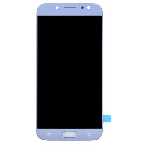Samsung Galaxy J7 2017 J730 - LCD Displej + Dotyková Plocha - Modrý