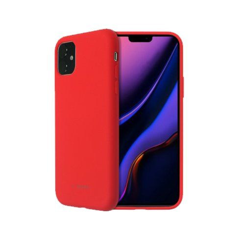 SoSeven Smoothie Silikonový Kryt pro iPhone 11 Red