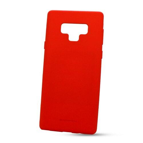 Puzdro Mercury Soft Feeling TPU Samsung Galaxy Note 9 N960 - červené