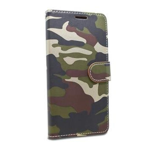 Puzdro Army Camouflage Book iPhone 6/6s - zelené