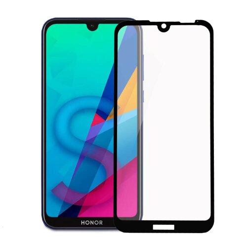 Ochranné sklo Q Huawei Y5 2019/Honor 8S celotvárové -čierne (full glue)