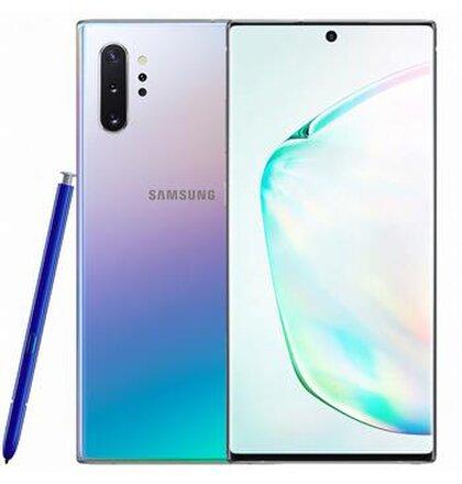 Samsung Galaxy Note 10+ 12GB/256GB N975F Dual SIM Strieborný  Aura Glow