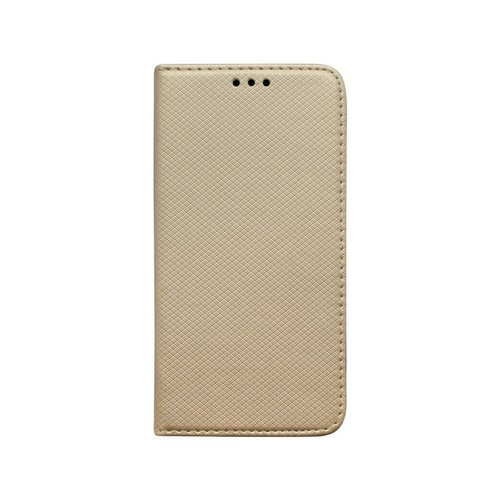 Knižkové puzdro iPhone 5/5S/SE zlaté vzorované