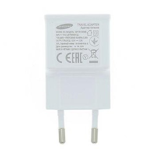 Nabíjací adaptér Samsung EP-TA50EWE USB 1.55A Biely (Bulk)