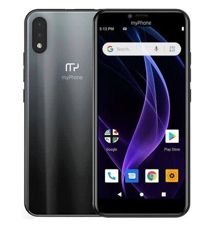 myPhone Prime 4 Lite 2GB/16GB Dual SIM, Čierny