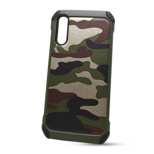 Puzdro Camouflage Army TPU Hard Samsung Galaxy A50 A505/A30s A307 - zelené