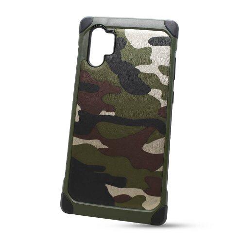 Puzdro Camouflage Army TPU Hard Huawei P30 Pro - zelené