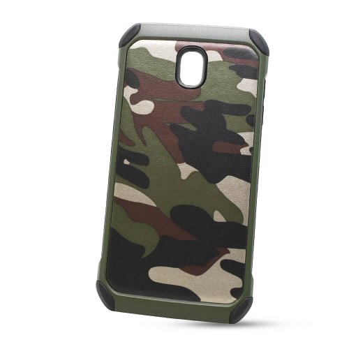 Puzdro Camouflage Army TPU Hard Samsung Galaxy J5 J530 2017 - zelené