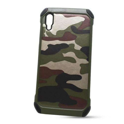 Puzdro Camouflage Army TPU Hard Huawei Y6 2019 - zelené
