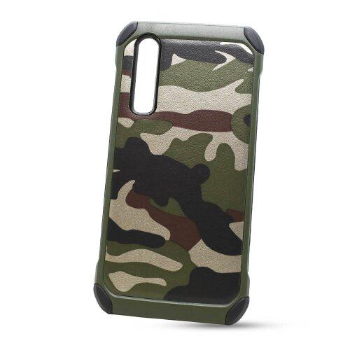 Puzdro Camouflage Army TPU Hard Huawei P30 - zelené