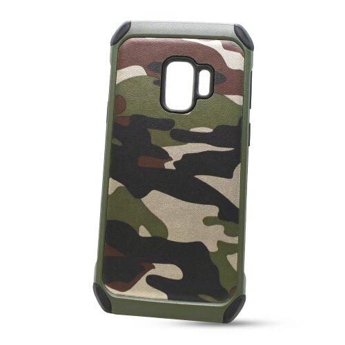 Puzdro Camouflage Army TPU Hard Samsung Galaxy S9 G960 - zelené