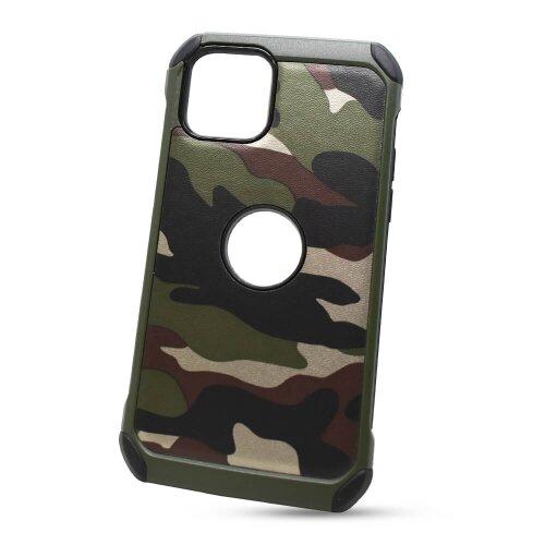 Puzdro Camouflage Army TPU Hard iPhone 11 Pro (5.8) - zelené
