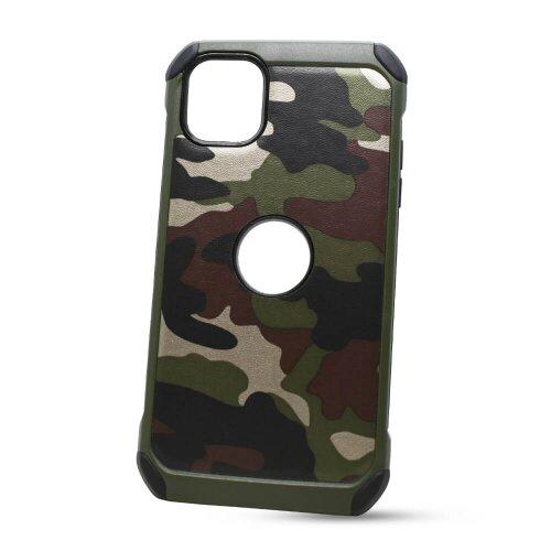 Puzdro Camouflage Army TPU Hard iPhone 11 (6.1) - zelené