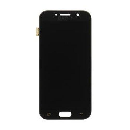 Samsung Galaxy A5 2017 A320F - LCD Displej + Dotyková Plocha - Čierna