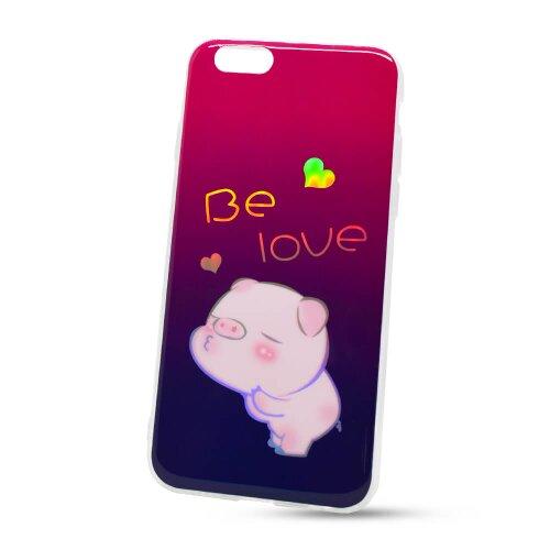Puzdro Flexi Color TPU iPhone 6/6s - prasiatko