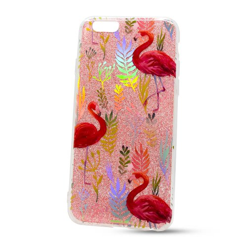 Puzdro Flexi Color TPU iPhone 6/6s - plameniaky