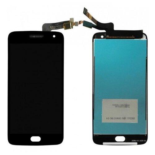 Moto G5S Plus - LCD Displej + Dotyková Plocha - Čierny