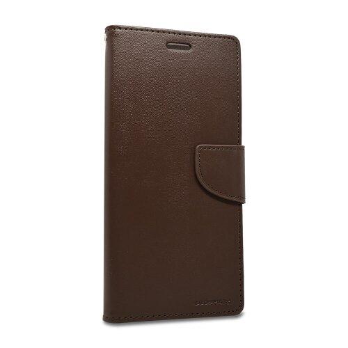 Puzdro Mercury Bravo Book Samsung Galaxy Note 10+ N975 - hnedé