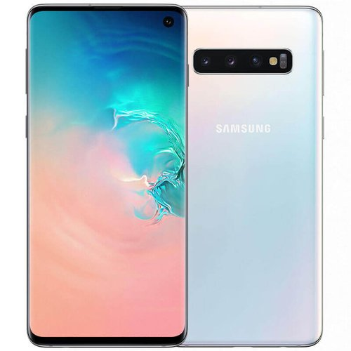 Samsung Galaxy S10 8GB/128GB G973 Dual SIM, Biela - SK distribúcia