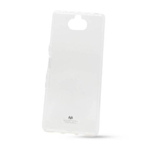 Puzdro Mercury Jelly TPU Sony Xperia 10 - transparenté