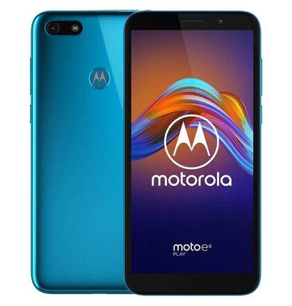 Motorola Moto E6 Play Dual SIM, Modrý - SK distribúcia