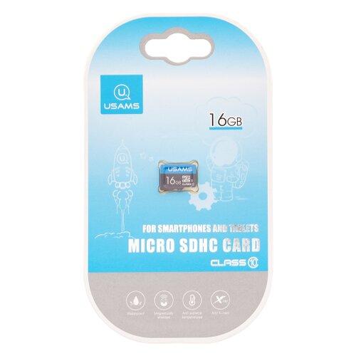 MicroSDHC karta USAMS ZB093 16GB (bez adaptéra)