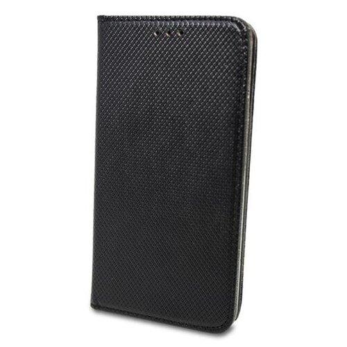 Puzdro Smart Book Motorola Moto E5 Plus - čierne