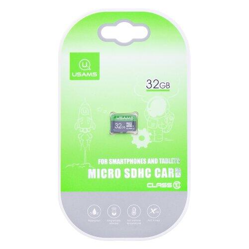 MicroSDHC karta USAMS ZB094 32GB (bez adaptéra)
