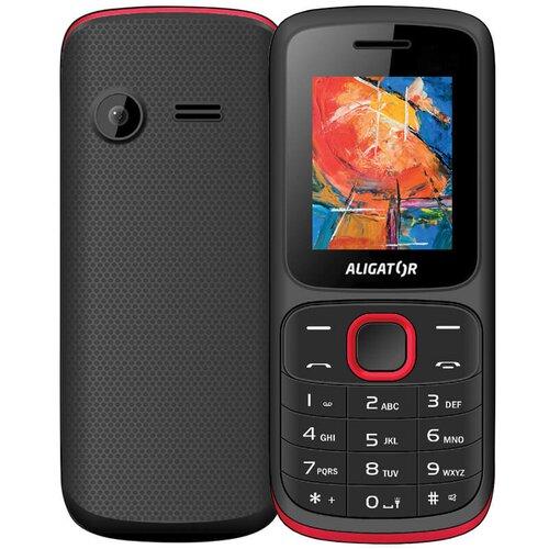 Aligator D210 Dual SIM, Čierno-červený