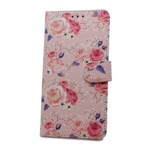 Puzdro Flower Book Huawei Y6 2019 - kvety