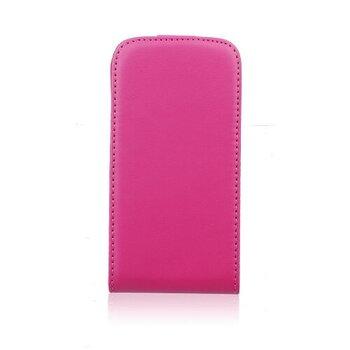 Samsung Galaxy A3 A300 flexi knižkové puzdro ružové