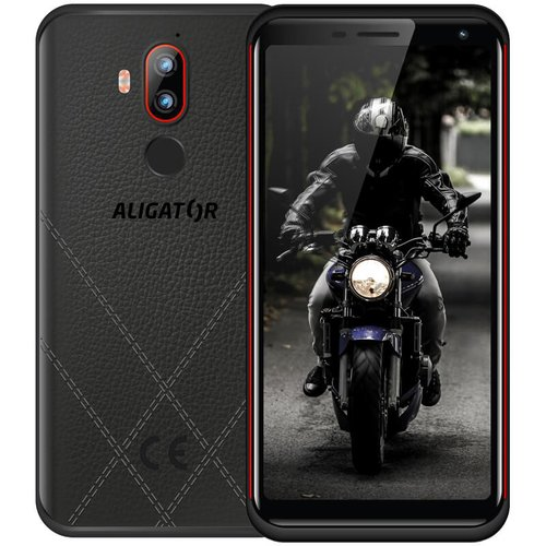 Aligator RX800 eXtremo 4GB/64GB Dual SIM, Čierno-červený