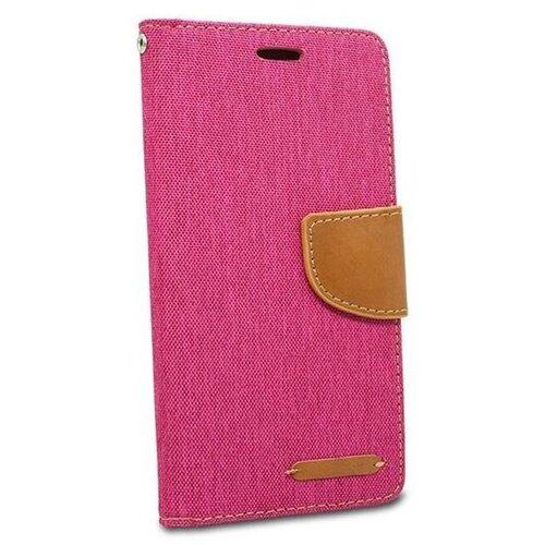 Puzdro Canvas Book iPhone 11 (6.1) - ružové
