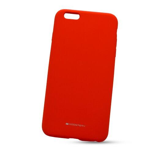 Puzdro Mercury Silicone TPU iPhone 6 Plus/6S Plus - červené