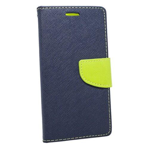Puzdro Mercury Fancy Book Sony Xperia Z5 E6653 -  modro-limetkové