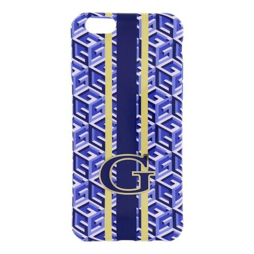 "Puzdro Guess pre iPhone 6 4.7"" GUHCP6GCUBL silikónové, modré"