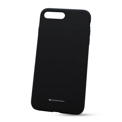 Puzdro Mercury Silicone TPU iPhone 7 Plus/8 Plus - čierne liquid