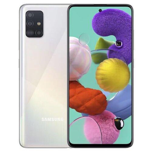 Samsung Galaxy A51 4GB/128GB A515 Dual SIM, Biela - SK distribúcia