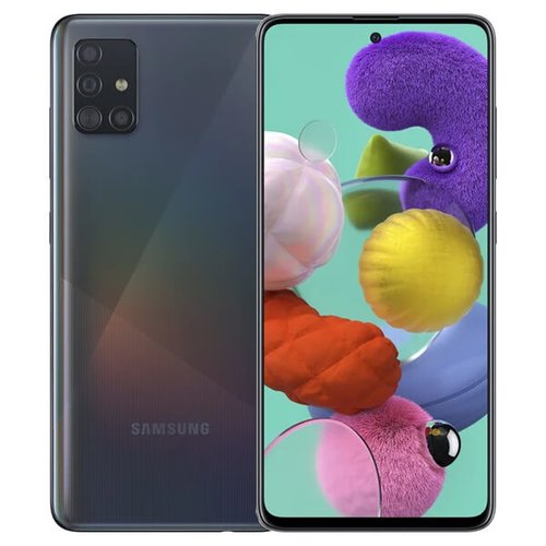 Samsung Galaxy A51 4GB/128GB A515 Dual SIM, Čierna - SK distribúcia
