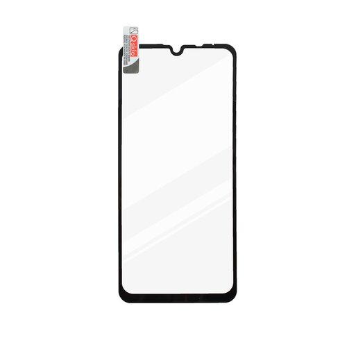 Ochranné sklo Q LG K40s celotvárové - čierne (full glue)