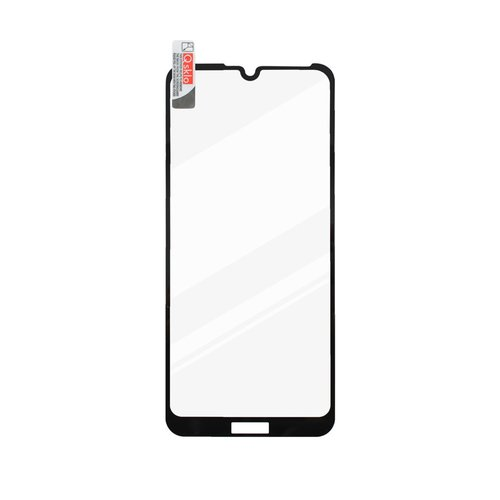 Ochranné sklo Huawei Y6s čierne, full glue
