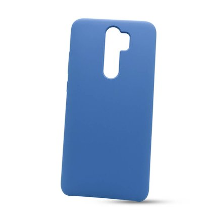 Puzdro Liquid TPU Xiaomi Redmi Note 8 Pro - modré