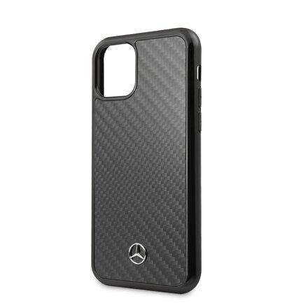 MEHCN58RCABK Mercedes Dynamic Real Carbon Zadní Kryt pro iPhone 11 Pro Black
