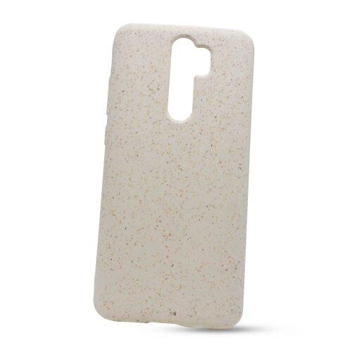 Puzdro Eco TPU Xiaomi Redmi Note 8 Pro - biele (plne rozložiteľné)